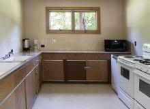 Kitchen in Black River Advancement Association Hall